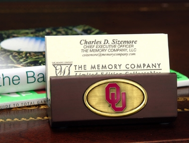 Oklahoma Business Card Holder