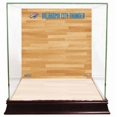 Oklahoma City Thunder Display Cases