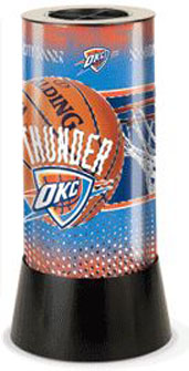 Oklahoma City Thunder Rotating Lamp