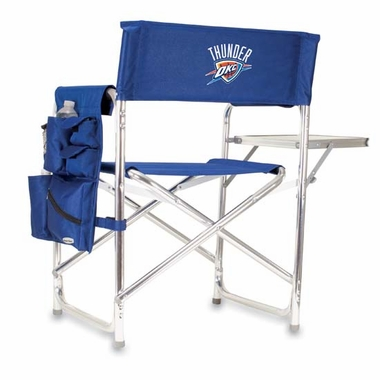 Oklahoma City Thunder Sports Chair (Navy)