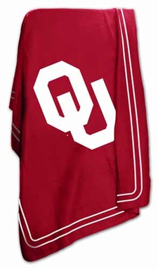 Oklahoma Classic Fleece Throw Blanket