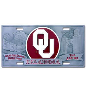 Oklahoma Deluxe Collector's License Plate