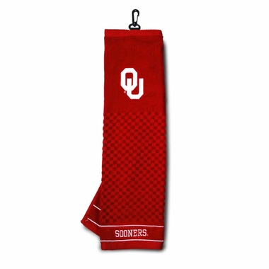 Oklahoma Embroidered Golf Towel