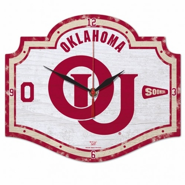 Oklahoma High Definition Wall Clock