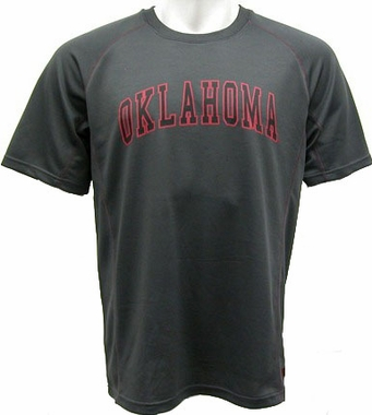 Oklahoma Inferno Charcoal Performance T-Shirt