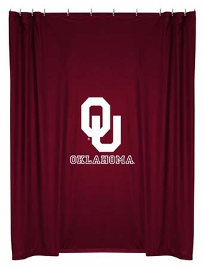 Oklahoma Jersey Material Shower Curtain