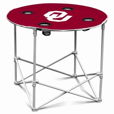 Oklahoma Round Tailgate Table