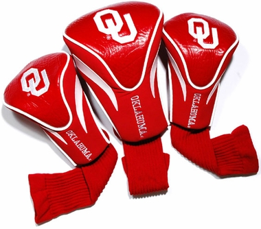 Oklahoma Set of Three Contour Headcovers
