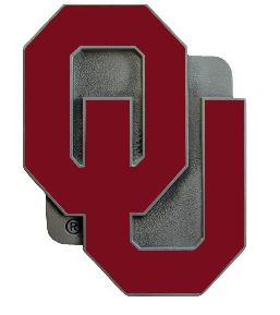 Oklahoma Sooners OU Hitch Cover Class 3