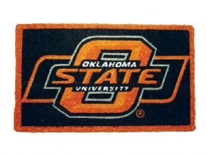 Oklahoma State 18x30 Bleached Welcome Mat