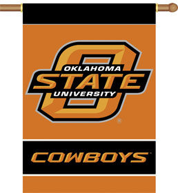 Oklahoma State 2 Sided Banner (P)