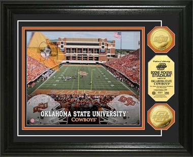 Oklahoma State Cowboys Oklahoma State University Gold Coin Photo Mint