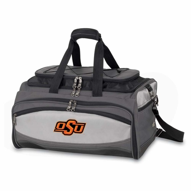 Oklahoma State Buccaneer Tailgating Embroidered Cooler (Black)