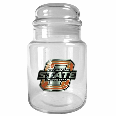 Oklahoma State Candy Jar