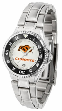 Oklahoma State Competitor Women's Steel Band Watch
