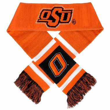 Oklahoma State Cowboys 2012 Team Stripe Knit Scarf