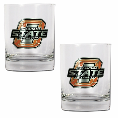 Oklahoma State Double Rocks Set