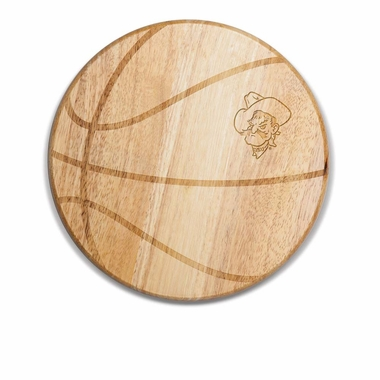 Oklahoma State Free Throw Cutting Board