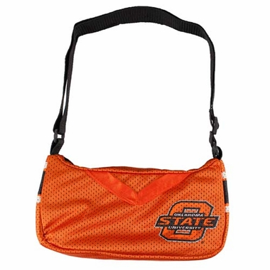 Oklahoma State Jersey Material Purse