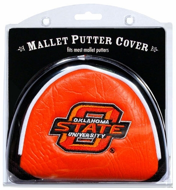 Oklahoma State Mallet Putter Cover