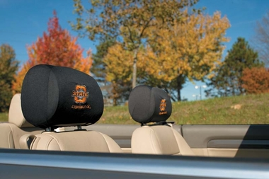 Oklahoma State Set of 2 Headrest Covers (F)