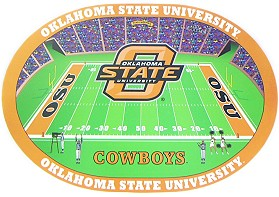 Oklahoma State Cowboys Set of 4 Placemats