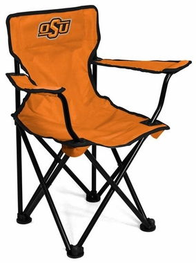 Oklahoma State Toddler Folding Logo Chair