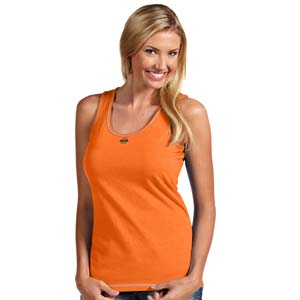 Oklahoma State Womens Sport Fashion Tank Top (Color: Orange) - X-Large