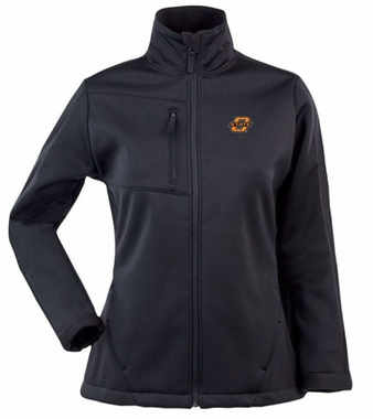 Oklahoma State Womens Traverse Jacket (Color: Black)