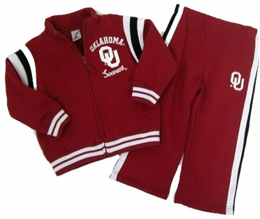 Oklahoma Toddler Jacket and Pants Set