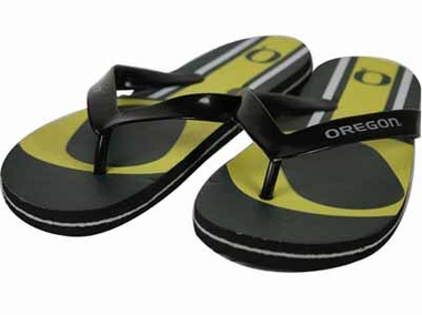 Oregon 2012 Unisex Big Logo Flip Flops - Medium