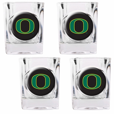 Oregon 4 Piece Shot Glass Set