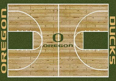 "Oregon 7'8"" x 10'9"" Premium Court Rug"