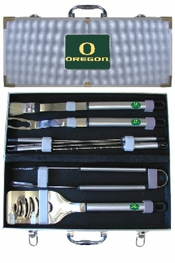 Oregon 8pc. BBQ Set w/Case