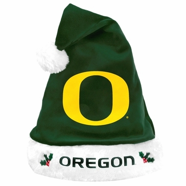 Oregon Ducks 2012 Team Logo Plush Santa Hat