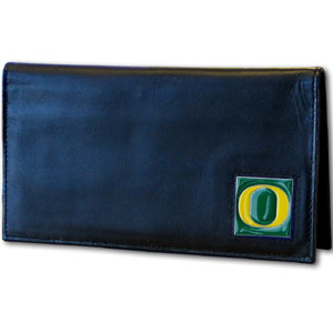 Oregon Leather Checkbook Cover (F)