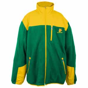 Oregon Poly Dobby Full Zip Polar Fleece Jacket - Large