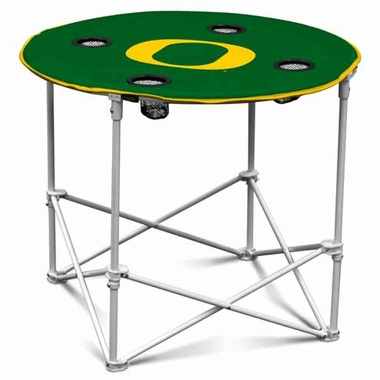 Oregon Round Tailgate Table