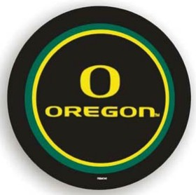 Oregon Ducks Black Tire Cover - Standard Size