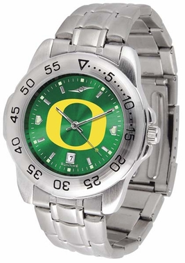 Oregon Sport Anonized Men's Steel Band Watch