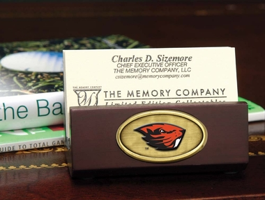 Oregon State Business Card Holder