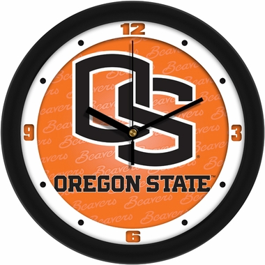 Oregon State Dimension Wall Clock