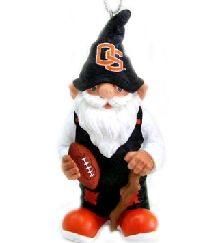 Oregon State Gnome Christmas Ornament