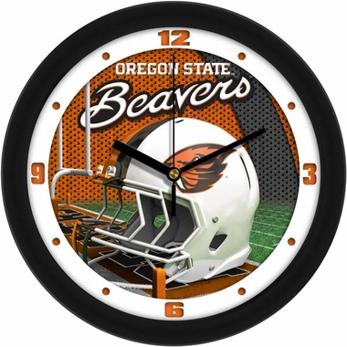Oregon State Helmet Wall Clock