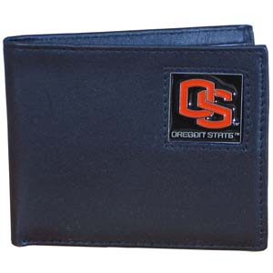 Oregon State Leather Bifold Wallet (F)