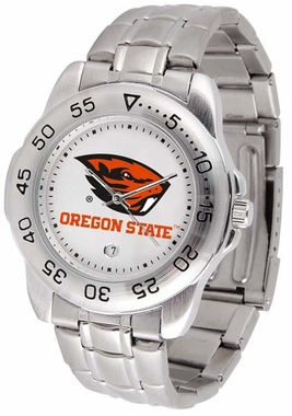 Oregon State Sport Men's Steel Band Watch