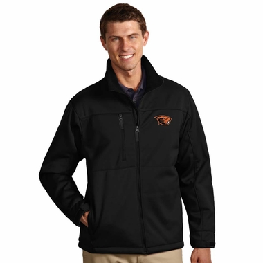 Oregon State Mens Traverse Jacket (Color: Black) - Small