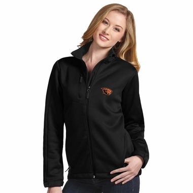 Oregon State Womens Traverse Jacket (Color: Black) - Small