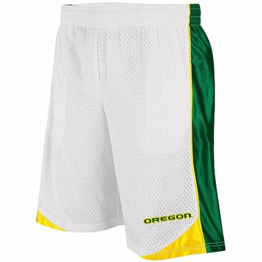 Oregon Vector Performance Shorts (White)