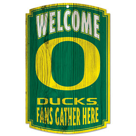 Oregon Ducks Wood Sign